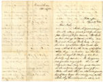 Letter dated April 29, 1861